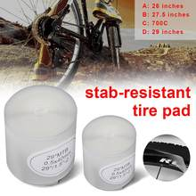 "2pcs/pack Bicycle Tire Liner Puncture Proof Belt Protection Pad For 700C 26"" 27.5"" 29"" Stab-resistant Tire Pad Explosion-proof(China)"