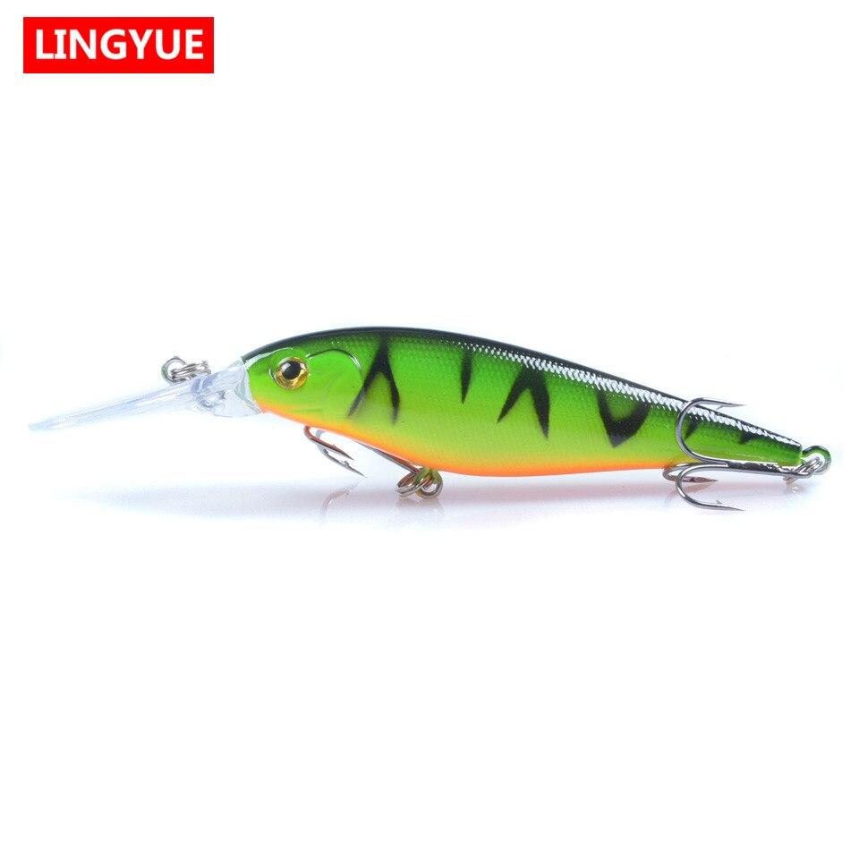 Nueva Llegada 11 cm/10g Minnow Señuelos de Pesca 10 Colores Disponibles Crankbai