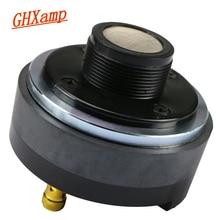 GHXAMP 25 Core Horn Speaker Tweeter 25.4 Core Treble Driver Head Titanium Diaphragm Professional stage 8Ohm 50W