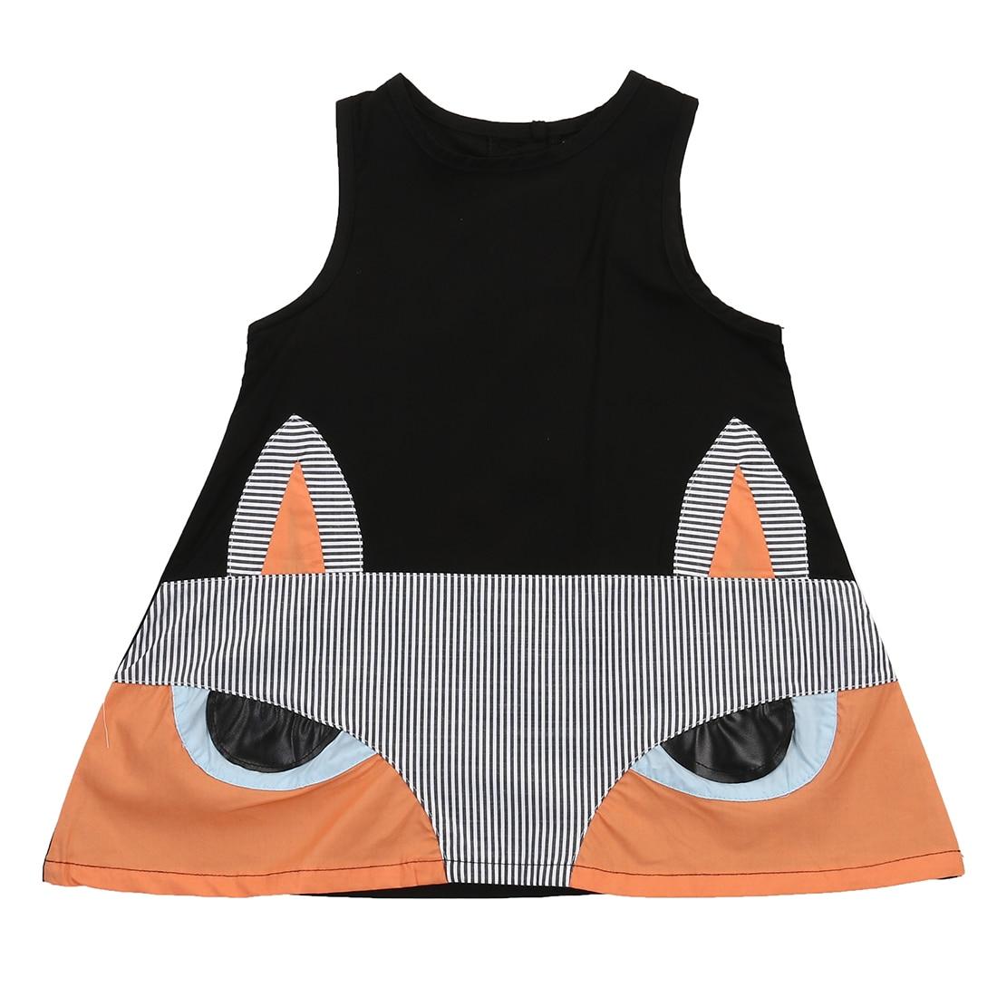 Baby inari fox for sale - Lovely Kids Baby Girl Sleeveless Cartoon Renard Party Dress Girls Fox Dresses Vest Toddler