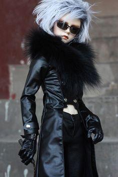[ wamami ] 770# кожаное пальто / костюм / снаряжение / одежда 1/3 SD DZ бжд Dollfie