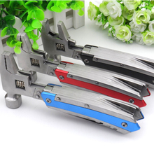LHX Multifunctional hand tool stainless steel wrench hammer outdoor portable maintenance hardware tools pliers
