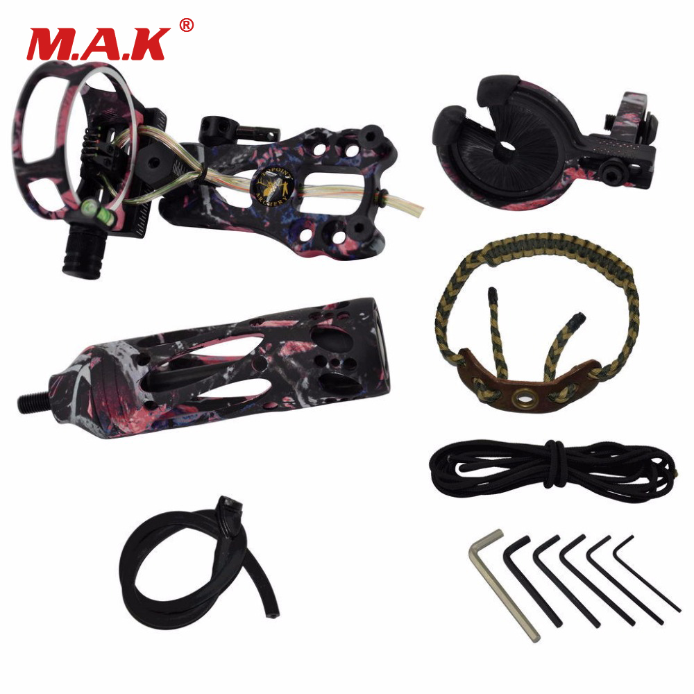 New Archery Upgrade Combo Compound Bow Accessories with Bow Sight Arrow Rest Stabilizer or Compound Bow Hunting Shooting раскладушка therm a rest therm a rest luxurylite mesh xl
