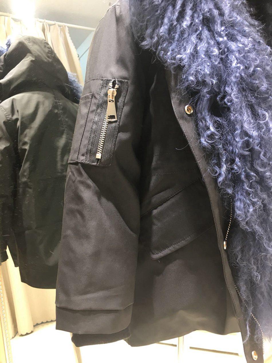 children winter real fur parka coats (15)