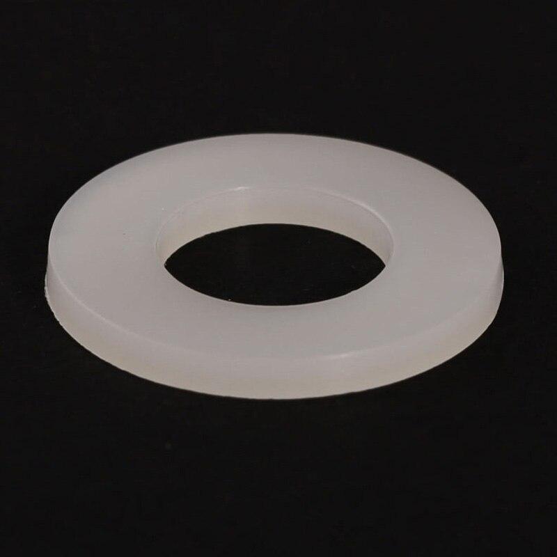 M8/M10/M12/M14/M16/M18/M20 Nylon Gasket / Insulated Flat Pad Plastic / Plastic Washer thickness 0 1mm stainless steel flat washer ultrathin gasket thin shim sus304 m5 m10 m12 m14 m15 m16 m17 m18 m20 m25