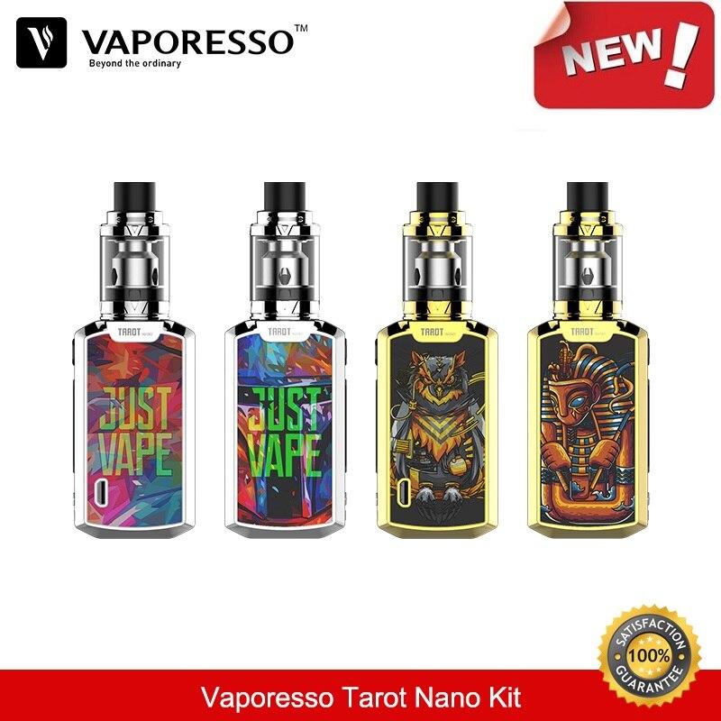 цена на Vaporesso Tarot Nano Kit 80W Box Mod with VECO Vape Tank 2ML Atomizer EUC Coil Vaporizer Electronic Cigarette Vapor 2500mah