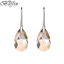 BAFFIN Drop Earrings Women Fashion Original Crystal From SWAROVSKI Elements Rhinestone Pendant Pendientes Mother's Day Gift
