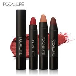 FOCALLURE 12 Colors Lip Stick Moisturizer Lipsticks Waterproof Long Lasting Easy To Wear Cosmetic Nude Makeup