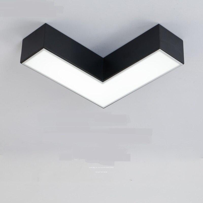 Modern LED ceiling lamp bedroom personality positive aisle lamp corridor decoratin lighting ceiling light ZA81530