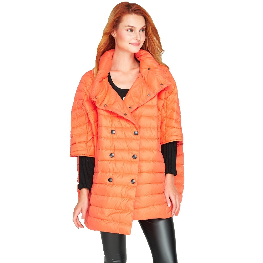 Le Manteau Lumière orange Vestes Ef3618 Et Marques Lâche Longue De Taille Mode black Vers Bas blue Hiver Beige Nouveau Femmes Grande Veste 5qxpX