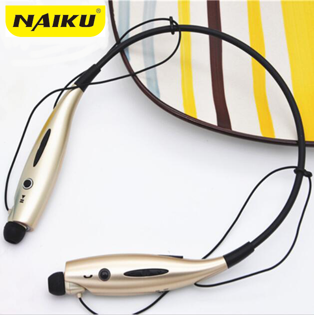 Hot NAIKU-730 Wireless Bluetooth Headset Sports Bluetooth Earphones Headphone with Mic Bass Earphone for Samsung iphone NAIKU730 factory price binmer 1pc sports wireless bluetooth headset earphone headphone for samsung jy27 drop shipping