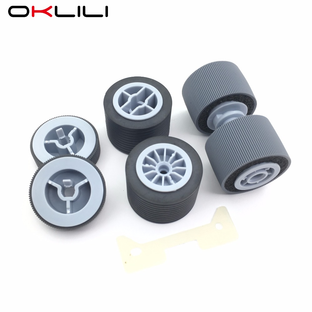 PA03450-K011 PA03450-K012 PA03450-K013 Pad Assy Pick Roller Brake Roller Separator Roller for Fujitsu fi-5950 fi-5900C fi-5900 pa03656 e958 pa03656 e976 for fujitsu ix500 pick roller and brake roller assy