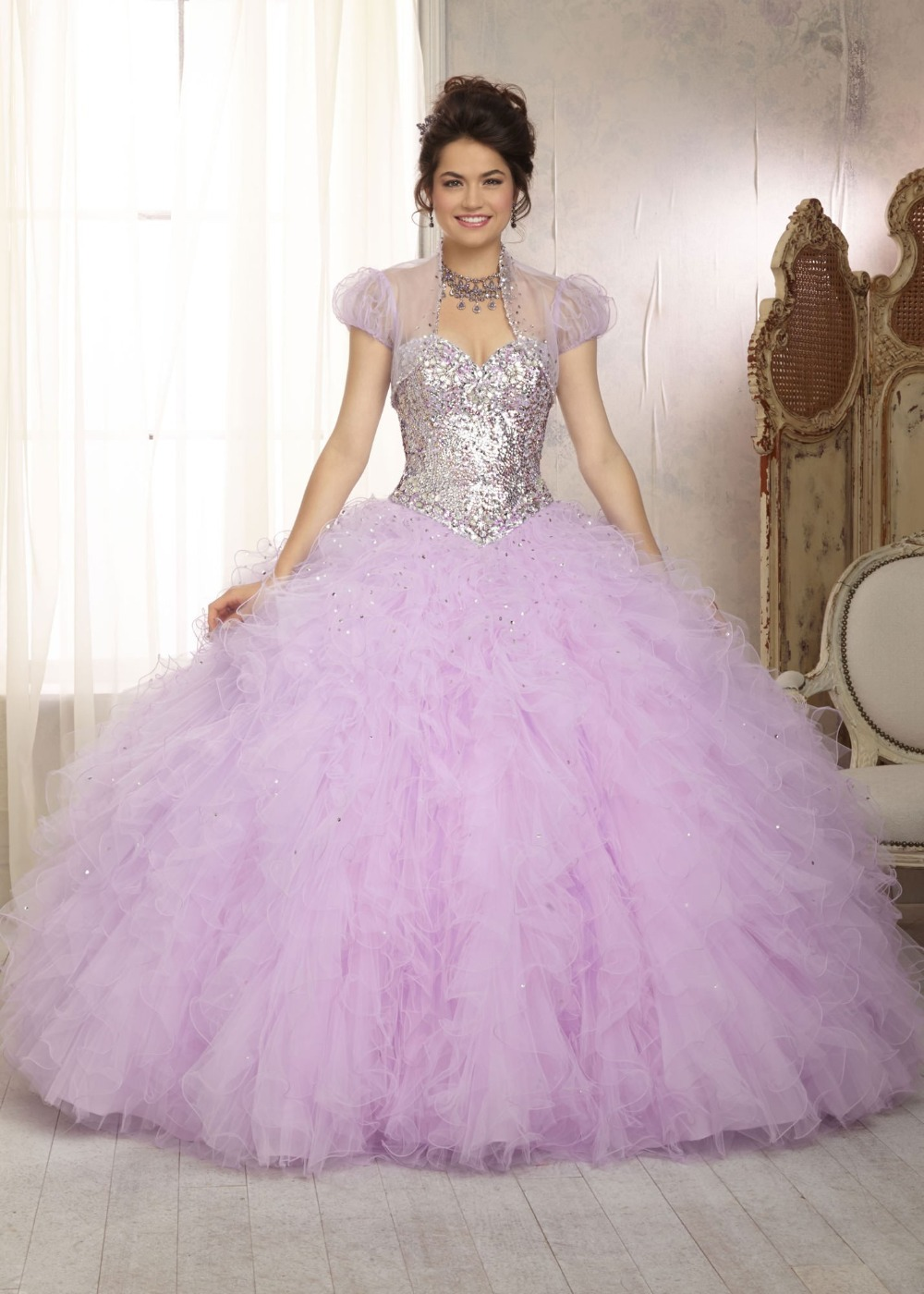 Online Get Cheap Pink and White Quinceanera Dresses -Aliexpress ...