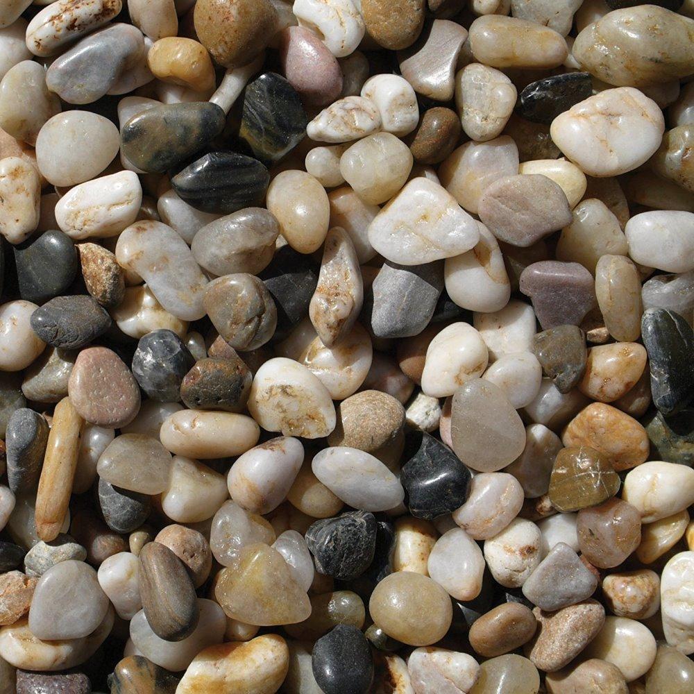 river rocks pebbles outdoor decorative