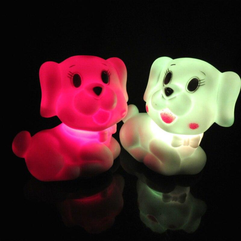 LED ночник Дети Прекрасный мини ночник с выключателем для детей номер лампы Рождественский подарок прикроватные украшения