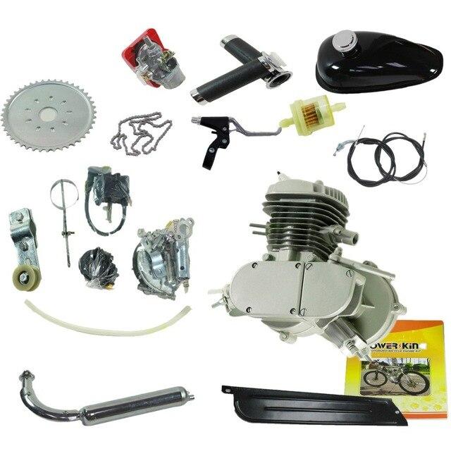 80cc Gas Engine Motor Bicycle 2 Stroke Gasoline Kit Motorized Bike Epa Fs Single Cylinder Motorcycle