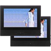 Подголовник автомобиля Экран Мониторы dvd плеер цифровой TFT ЖК дисплей Экран сзади подголовник сиденья Поддержка USB/MMC/игры /IR/FM передатчик/Ди
