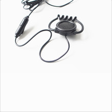 Linhuipad 3.5mm Stereo Hook Headsets mic earphone 1-bud earpiece for Tour Guide /Translation System