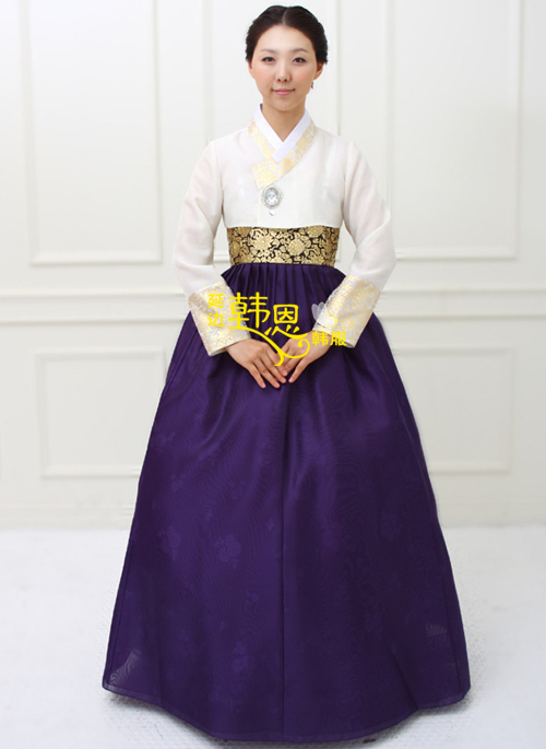 Hanbok Korean High Waist Wedding Party Dress National Costume Traditional In Asia Pacific Islands Clothing From