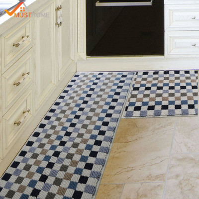 45 120cm kitchen rug home decoration non slip waterproof kitchen rh aliexpress com non skid kitchen rugs non slip kitchen rugs washable
