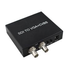 2019 New Style SDI Signal To VGA Or AV TO VGA+CVBS Free Shipping