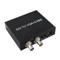 2019 New Style SDI Signal To VGA Or AV Signal SDI TO VGA+CVBS Free Shipping