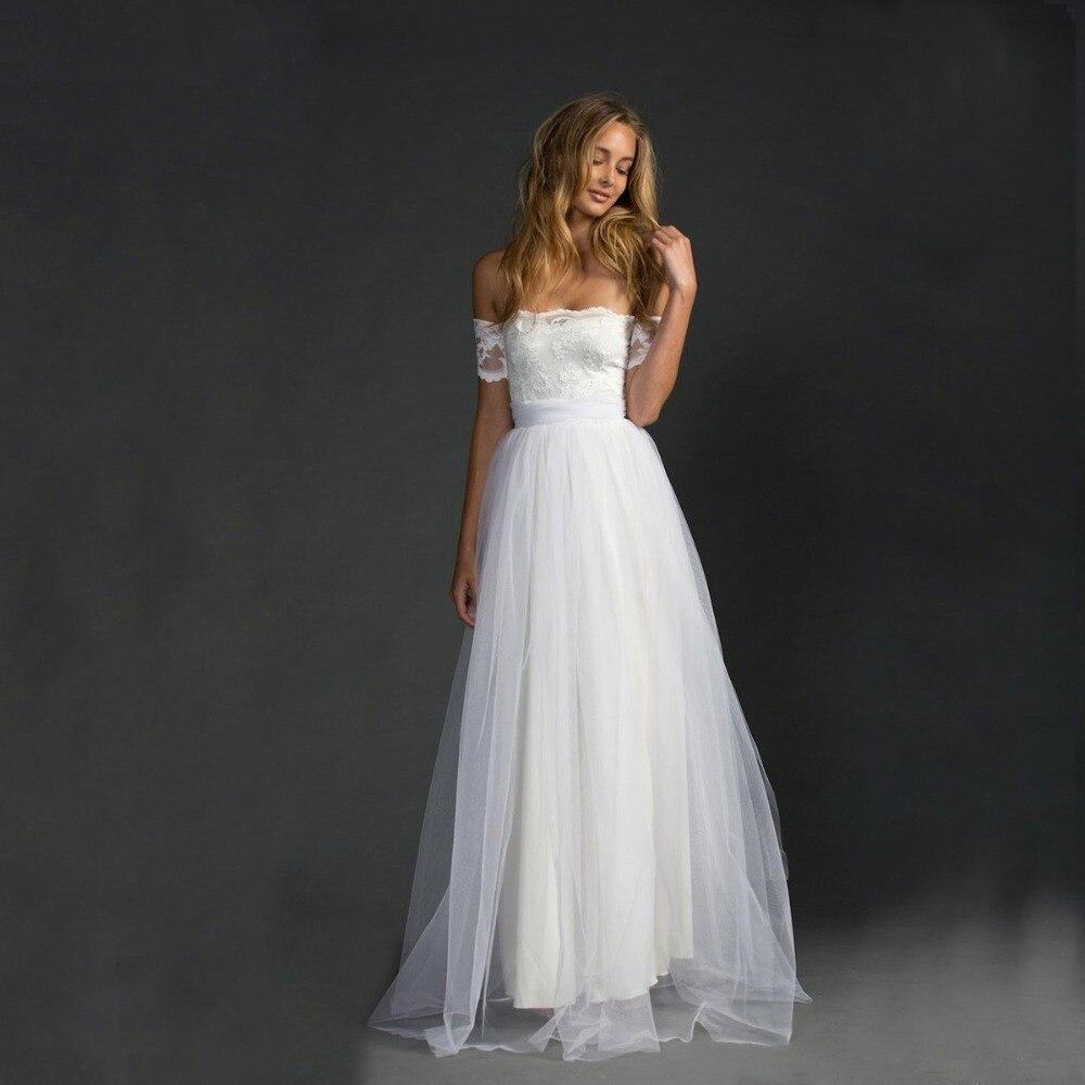 2018 New Fashionable Elegant Tulle Beach Simple Cheap Bridal Party Gown Vestido De Noiva Wholesale Custom Bridesmaid Dresses
