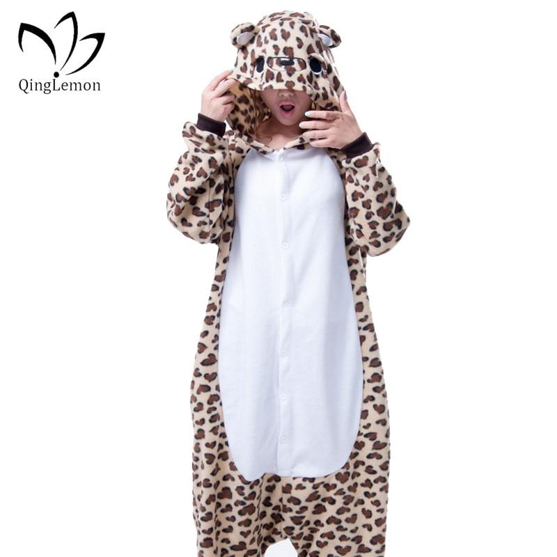 Leopard Flannel Pajamas Promotion-Shop for Promotional Leopard ...