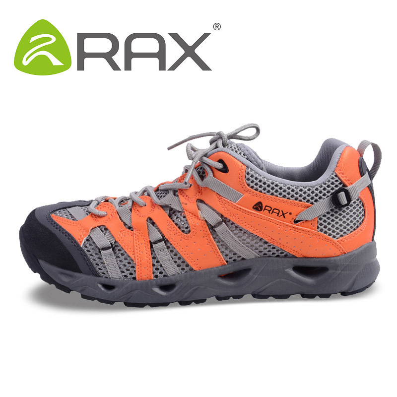 Rax Outdoor Breathable Aqua Shoes For Men Women Mesh Anti Skid Trekking Shoes Male Summer Camping