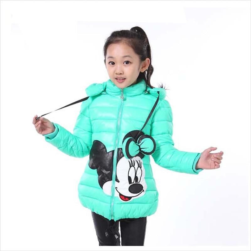 Qızlar Moda Gödəkçələr Uşaq Geyimləri Mickey Minnie Qız - Uşaq geyimləri - Fotoqrafiya 3