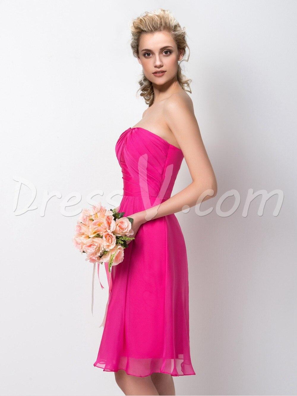 Perfecto Vestidos De Dama De Honor Menor Talla Grande Ornamento ...