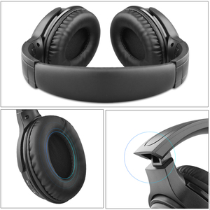 Image 5 - kebidu Wireless Bluetooth Headphone with microphone Bass HiFi Sound studio headset for music and phones support voice control
