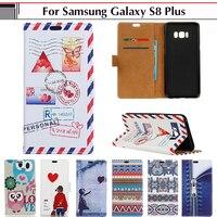 EiiMoo Case For Samsung Galaxy S8 Plus 6 2 Case Cartoon Cute Wallet PU Leather Flip