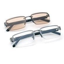 Черные очки для чтения Классическая Glasse прозрачные линзы покрытая цельной полиуретановой кожей пресбиопические очки лупа+ 1,0+ 1,5+ 2+ 2,0+ 2,5+ 3+ 3,5+ 4,0 leesbri