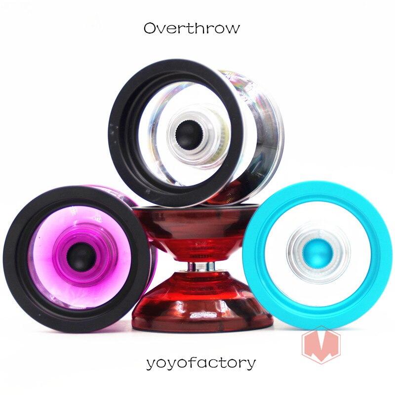New Arrive Yoyofactory Overthrow YOYO metal ring  1A yoyo Professional gift for boys