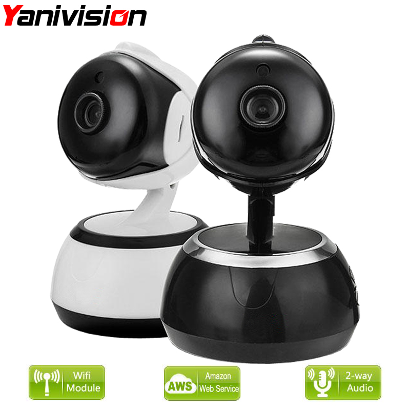 Security Wifi Camera Cloud Storage 720P HD P2P IR Night Vision Smart Camera Home Surveillance Wireless Camera Yanivision et16 intelligente scanner portatile con 34 lingue ocr e wifi connect per czur cloud storage