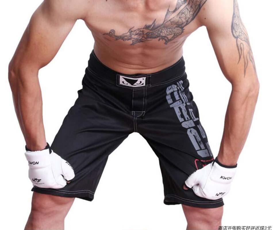 Mma Compression Pants Fight Grappling Cage Boxing Trousers Muay Thai Ufc Kick