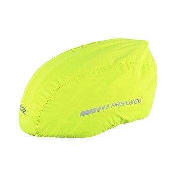 Waterproof Bike Helmet Cover with Reflective Strip Cycling Bicycle Helmet Rain Cover Road Bicycle Helmet Water Snow Cover 10