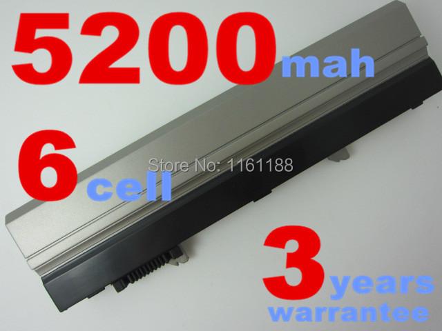 6 celdas de batería portátil para dell latitude e4300 e4320 e4400 pp13s pyct7 r3026 t5v0c vn5h2 w8h5y wj386 x855g xx327 xx330 xx334