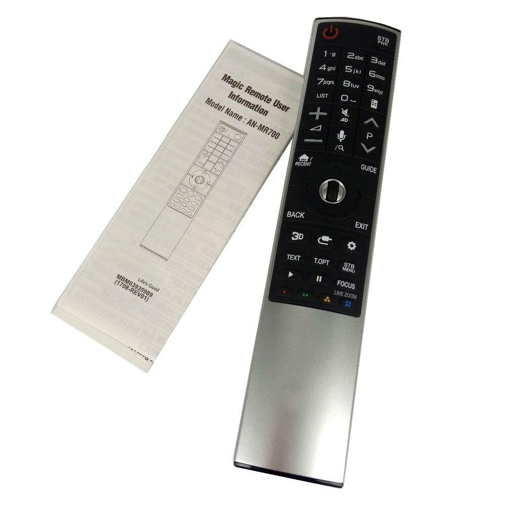 Nouveau AN-MR700 d'origine pour LG Magic Motion télécommande avec roue de navigateur pour LG 3D smart TV AKB75455601 Fernbedienung