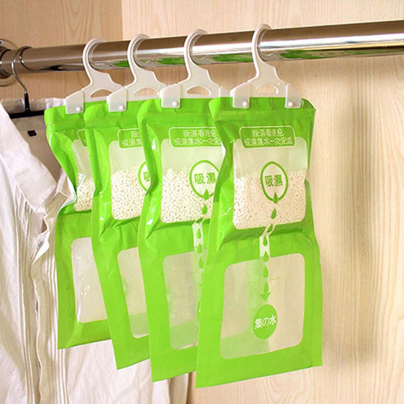 Hangable Wardrobe Moldproof Moisture Proof Dehumidification Bag Moisture Absorbing Bag Odor Absorber