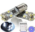2x BAX9S H6W White 6000K No Error LED Parking Lights For Mercedes-Benz W210 E420 W208 E W210 H6W 433C 434 CANBUS