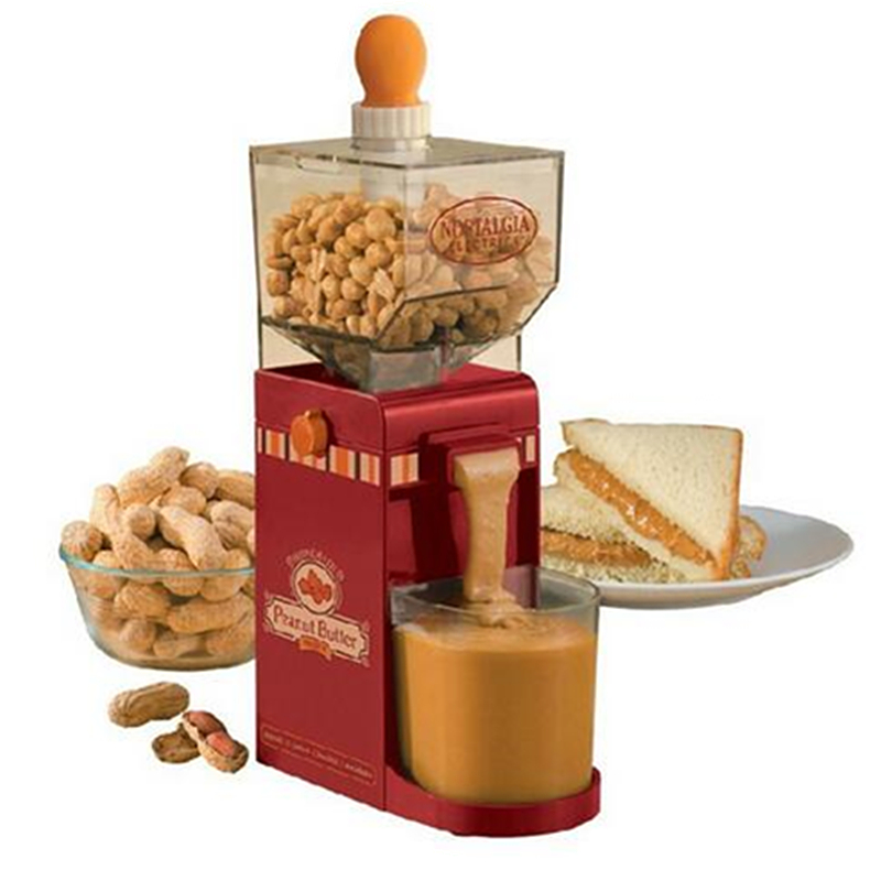 Small Electric Peanut Butter Maker 120W Peanut Butter Machine Butter Milling Machine Peanut Grinder peanut butter machine nuts butters maker