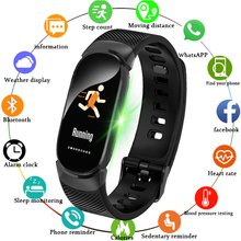 LIGE New Sport Smart Bracelet Men LED Waterproof Smart Watch Women Heart Rate Blood Pressure Pedometer Clock For IOS Android