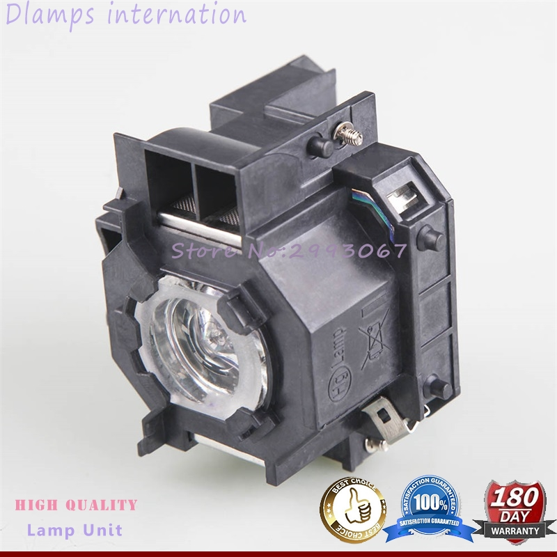 Replacement ELPL41EMP-S5 EMP-S52 EMP-T5 EMP-X5 EMP-X52 EMP-S6 X6 EMP-260 EX90 EB-S6 EB-S6+ Projector lamp V13H010L41 for Epson