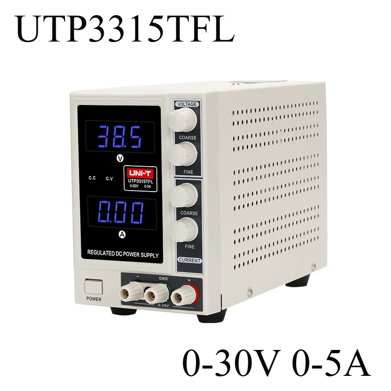 UNI-T UTP3315TFL Precision Variable Adjustable DC Power Supply Limitation Output Voltage Current 0 to 30V 0 to 5A Power Souce зарядное устройство ginzzu usb 1a ga 4105ub