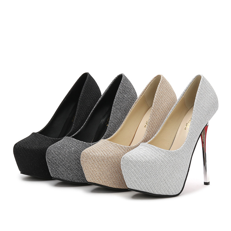 Banquet-Shoes High-Heels Sexy Fashion Women's New 14cm