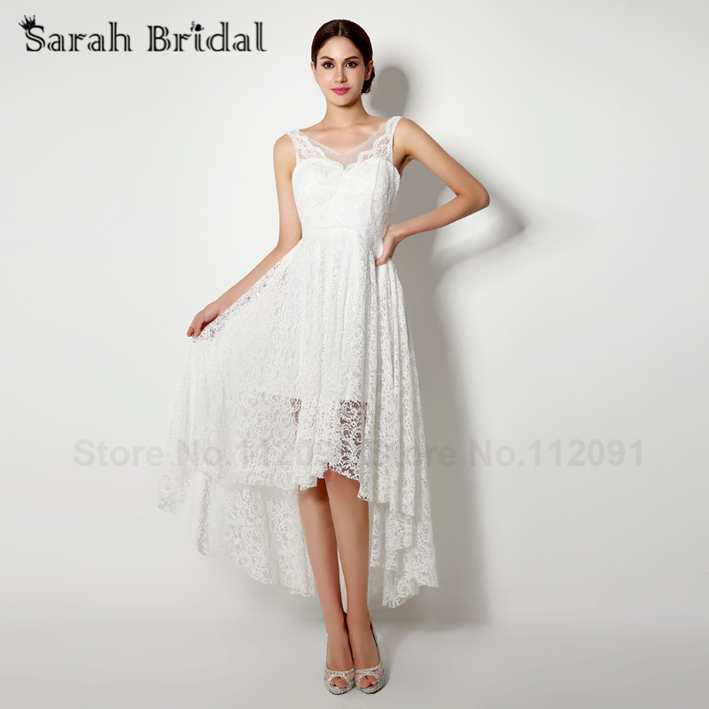 Popular sexy high low wedding dresses buy cheap sexy high for Free wedding dresses low income