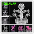DIY 3D Jigsaw Crystal Puzzle 12 Zodiac Aquarius Libra Scorpio Virgo Gemini Constellation Plastic Home Decoration