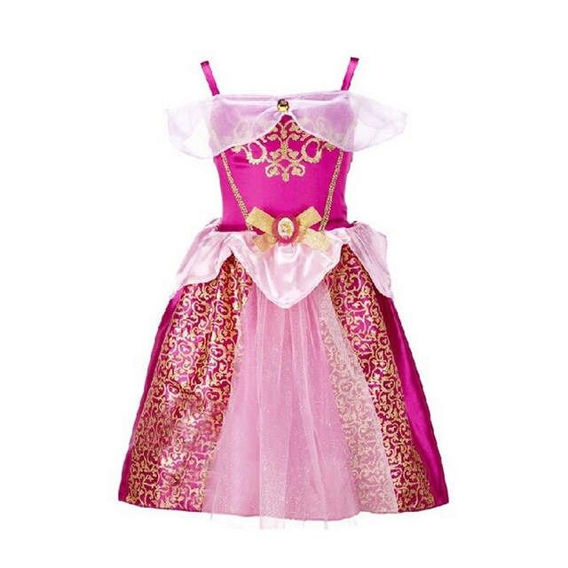 dcf878814 Online Shop 2018 Elegant Elsa Anna Princess Girls Dresses Party ...